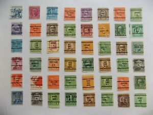 U S   Collection of all used PRECANCEL DEFINITIVES -7-22-D--We combine shipping