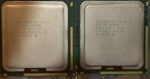 Intel Xeon X5690 - 3.46GHz 6Core LGA1366 SLBVX (Qty 2 - Matched Pair)