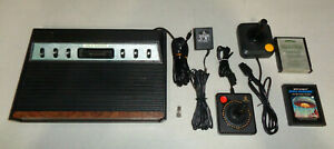 ~Sears Tele-Games Clone 6-Switch Atari 2600 Console/System Bundle ~Pro-Cleaned~