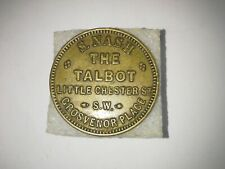 More details for token s.nash the talbot inn 1.!/2d exellent condition e.f.