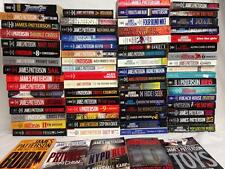 Lot of 71 JAMES PATTERSON Paperback Books, See All