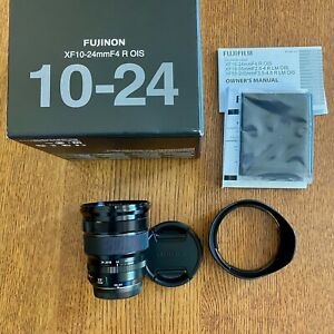 Fujifilm Fuji Fujinon XF 10-24mm F4 R Zoom lens - MINT Never Used! (USA MODEL)
