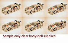 1:10 RC Clear Lexan Body Shell Mercedes CLK DTM 200mm suit Electric or Nitro