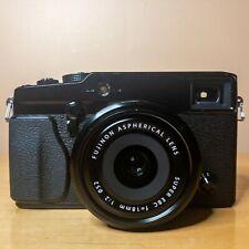 Fujifilm X-Pro1 16MP Digital Camera Black withFuji XF18mm f2 Lens & Accessories