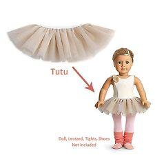 American Girl LE ISABELLE TUTU for Dolls in Box Girl of Year '14 Dance Skirt NEW