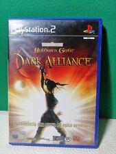 Baldur's Gate Dark Alliance Ps2 Playstation 2 Pal Ita