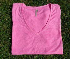 BNWT Banana Republic Pink linen signature tee (size L)