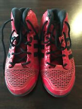 Men's Size 11 Red and Black Adidas Basketball Shoes