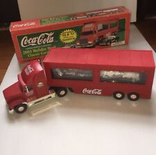 Coca-Cola 2001 Holiday Dual Classic Carrier With 55 and 57 Ford Thunderbirds NIB