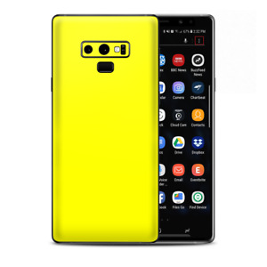 Skins Decal Wrap for Samsung Note 9 - Bright Yellow