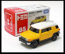 TOMICA #85 TOYOTA FJ CRUISER 1/66 TOMY DIECAST CAR YELLOW