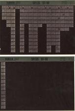 YAMAHA SR 125 _ Service Manual _ Microfich _ microfilm _ 1998