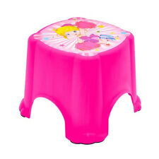 Children/Kids Plastic Step Stool Anti Slip Toilet Potty Training Bathroom Girl