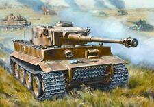 Zvezda 5002 German heavy Tank Tiger I (Early Production) 1/72