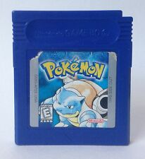 Nintendo Game Boy Pokemon Blue Version *Cleaned* *Tested* *Brand New Battery*