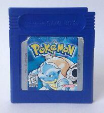 Nintendo Game Boy Pokemon Blue Version *Cleaned* *Tested* *Brand New Battery*