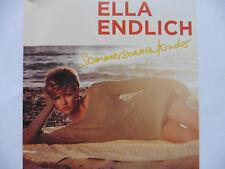 Ella Endlich   Sommersonnenkinder   Promo Maxi - CD   2012   Adrenalin Rar!!!