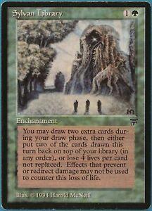 Sylvan Library Legends PLD Green Uncommon MAGIC MTG CARD (ID# 241938) ABUGames