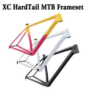 960g XC mtb Frame 29er Carbon Fiber Mountain Bike Frameset Boost 148mm BSA
