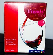 New LUMINARC Red Wine Glasses - Set of 4