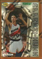 1996-97 Topps Finest - Steve Nash  - Rookie Refractor