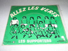 SPORT FOOTBALL 45 TOURS FRANCE ALLEZ LES VERTS MONTY