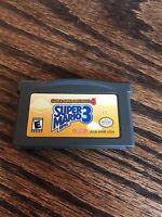 Super Mario Advance 4: Super Mario Bros. 3 (Nintendo Game Boy Advance,) GBA Cart