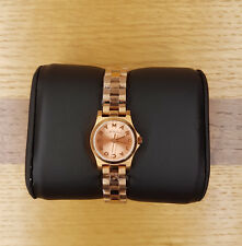 Genuine Marc Jacobs Women's MBM3200 'Henry Dinky' Rose Gold-tone Ladies Watch