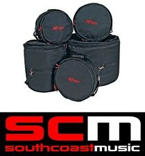 "Xtreme Fusion Drum Bag Set Comprises 20"" Bass, 10"", 12',14"" & 14"" Snare Drumbags"