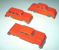 Alte Plastik Modell Autos 60 Jahre verglast Ford M20 VW Variant Opel Rekord > HO