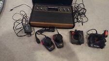 Atari 2600 Heavy Sixer Sunnyvale 6 Switch Console w Controllers Original Adapter