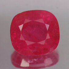 1.95CT CERTIFIED AA UNHEATED CUSHION RED RUBY NATURAL