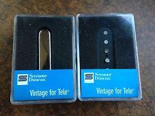 Seymour Duncan Vintage Telecaster Pickup Set With Vintage 54 Lead STR-1N STL-1B