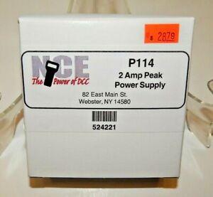 NCE #221 P114 2-Amp Peak Power Supply NEW