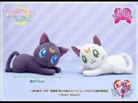Sailor Moon Eternal Big Plush Doll Luna & Artemis Set Lying Down 23cm 2021 New
