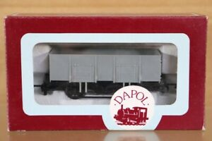 DAPOL A5 BR GREY UNPAINTED 20 STEEL OPEN MINERAL WAGON MINT BOXED nt