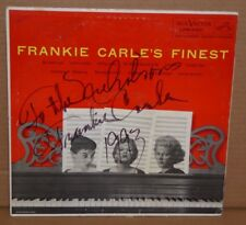 Frankie Carle autograph hand signed vinyl LP record frankie carle's finest