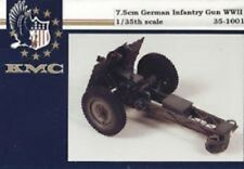 KMC Kendall Model 35-1001 - 7.5cm German Infantry Gun WWII - 1/35 resin