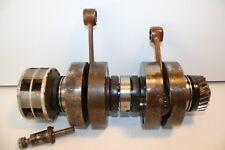 1966 OEM Suzuki T20 T250 Hustler CRANK RODS piston cranks fly wheel