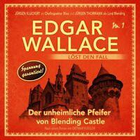 EDGAR WALLACE - DER UNHEIMLICHE PFEIFER VON BLENDING CASTLE-FOL CD NEU