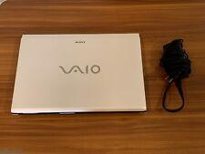 Sony VAIO Laptop SVE14135CXW Intel Core i5-3230M CPU @ 2.60GHz 6GB White