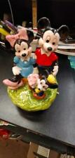 Vintage Schmid Minnie & Mickey Mouse Porcelain Ceramic Music Box Dream Come True