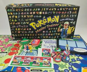 Pokemon Master Trainer Board Game Hasbro 1999 Replacement Parts Cards Tokens Toy