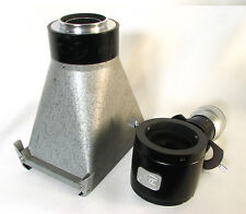 Zeiss Ikon Cut Film Microscope Camera With Microscope Adapter