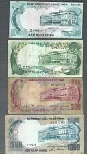 Vietnam ✨ 50 100 200 1000 Dong 4 pcs Banknote ✨ Collections & Lots