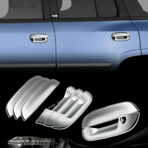 ABS Chrome Adhesive Door Handle Covers For 02-09 GMC ENVOY/CHEVY TRALIBLAZER