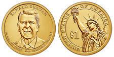 2016 P & D Ronald Reagan Presidential Dollars positions A & B - 4 coins!