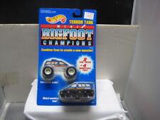 Hot Wheels Mint On Card 1992 Terro Tank Mini Big Foot Champions &