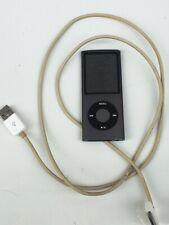 Apple IPOD Nano 4G, 8GB, Anthrazit