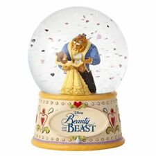 "Disney Traditions Beauty and the Beast 6.5""  Water Snow Globe"